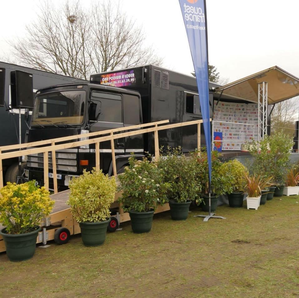 Location car podium France